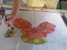 "Išliek savo mintis ir svajones: tapybos ant šilko pleneras ""Šilko fiesta"""