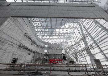 Druskininkuose baigiamas statyti kultūros centras
